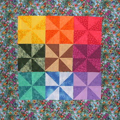 9 blocks on focus fabric