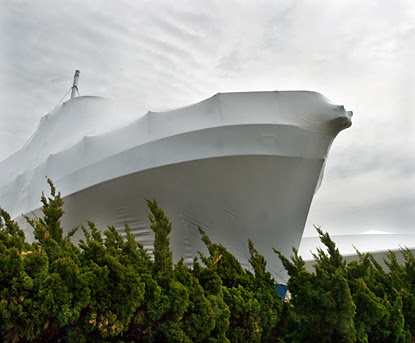 Shrink-wrapped boatBlog