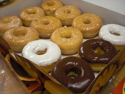 Tim Horton's donuts!