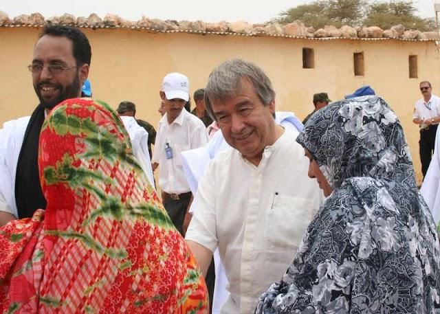 """ACNUR amplia el """"puente aéreo"""" entre Tinduf y el Sahara Occidental"""