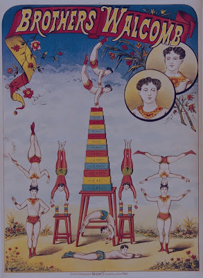 Brothers Walcomb - circus poster
