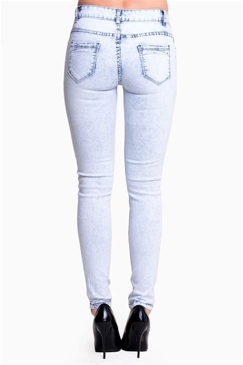mavis acid wash ripped jeans iclothing