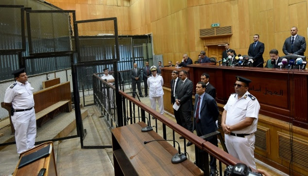 Image result for Egyptian Judge escapes death by whisker