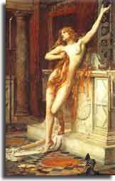 Η Υπατία (370-416 μ.Χ.), η Ελληνίδα νεοπλατωνική φιλόσοφος, αστρονόμος και μαθηματικός που έζησε και δίδαξε στην Αλεξάνδρεια όπου και δολοφονήθηκε από όχλο που αποτελούνταν από φανατικούς χριστιανούς.