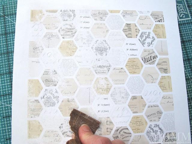 sanded digi paper lowers contrast
