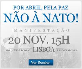 Por Abril, Pela Paz, Não à NATO!