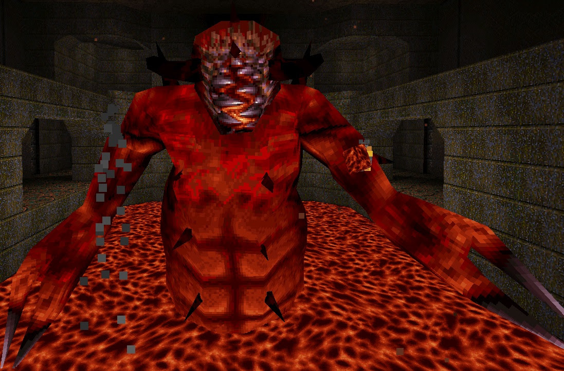 This Quake vinyl could be the perfect drug screenshot