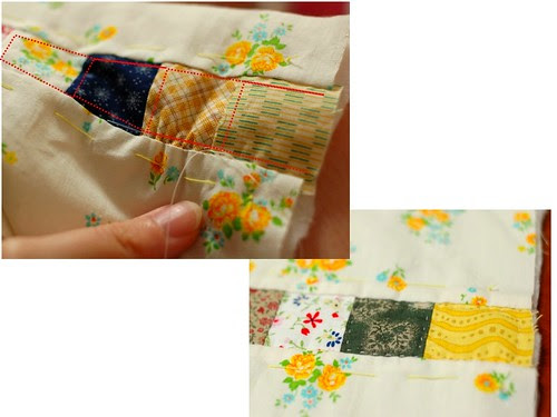 How to make a patchwork pouch (3)