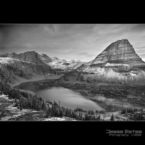 Hidden Lake - 2009 por Jesse Estes