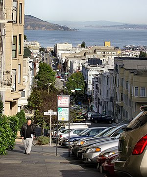 Nob Hill, San Francisco, California.