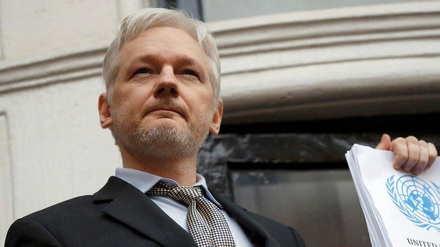 Image result for Wikileaks founder Assange on hacked Podesta, DNC emails: