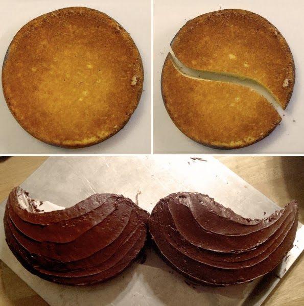 Maiko Nagao - diy, craft, fashion + design blog: DIY: Mustache cake! Groom's Cake?!
