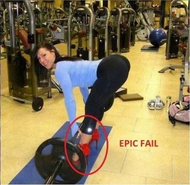 Απερίγραπτες στιγμές στο γυμναστήριο (6)