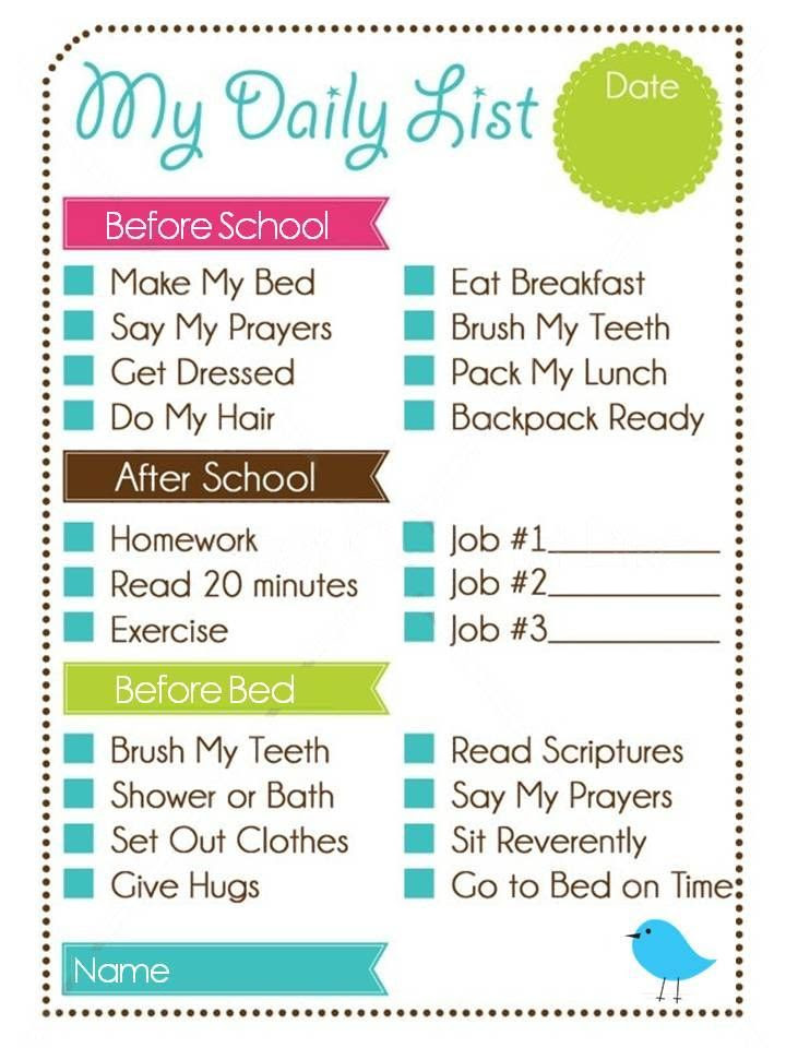 1000+ ideas about Weekly Chore Charts on Pinterest | Adult chore ...