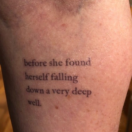 Litographs Tattoos Temporary Literary Tattoos