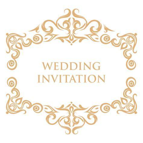 Wedding invitation label 2   Transparent PNG & SVG vector