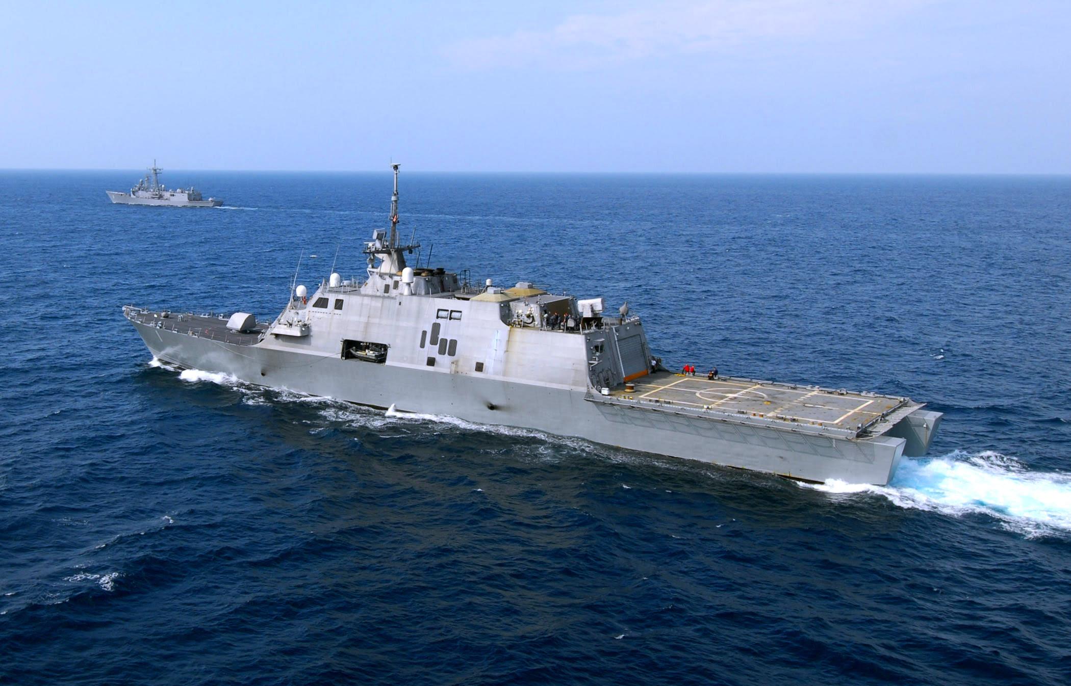 Resultado de imagen para USS Freedom (LCS-1)