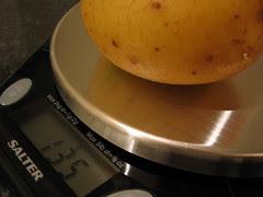 Potato on Scales