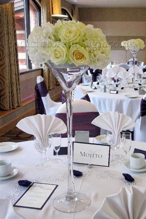 Wedding Reception Flowers London   Decorations and
