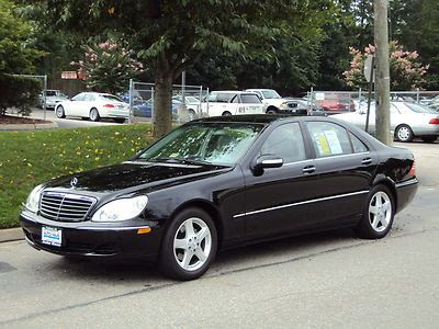Purchase used 2004 MERCEDES S500 SEDAN - NAVI - BOSE ...