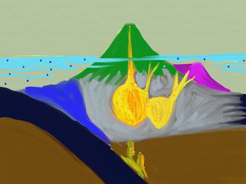 Subducting Arc and Skarn