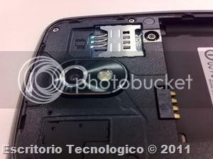 Samsung Galaxy Nexus GT-I9250 (15) - Camara y bandeja de tarjeta SIM