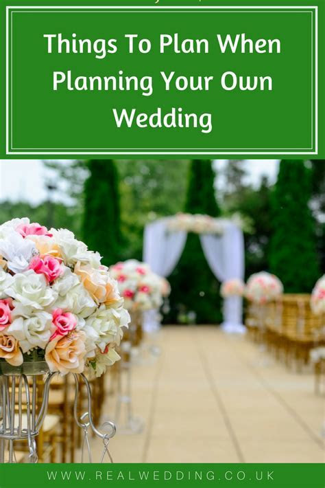 Things To Plan When Planning Your Own Wedding   Real Wedding