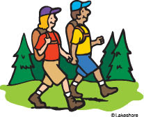 Free Hiking Clipart Images