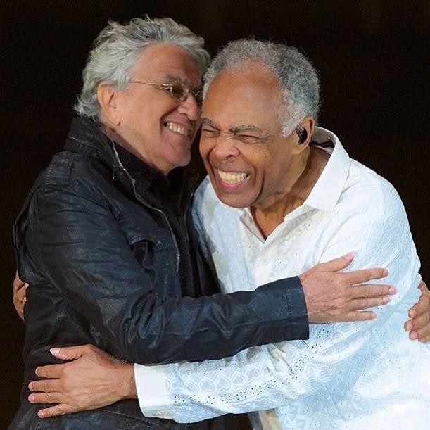 Caetano Veloso e Gilberto Gil (Foto: Reprodução/Instagram)