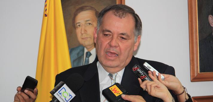 El Procurador Alejandro Ordoñez,