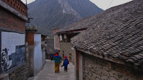 Back alleys, Kanding
