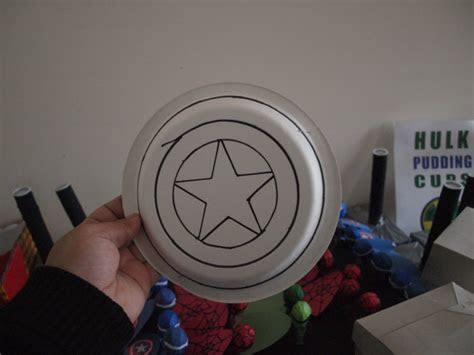 Make your own Captain America Shield Craft Rebecca Autry