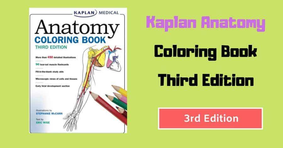 5000 Kaplan Anatomy Coloring Book Pdf Free Download Best HD