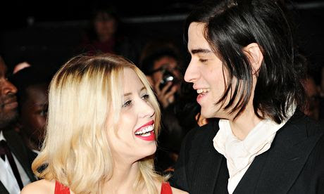 Peaches Geldof with her husband Thomas Cohen