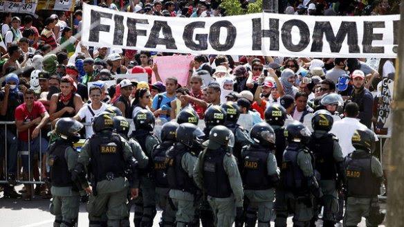 brasil-protestos-fortaleza-copa-confederacoes