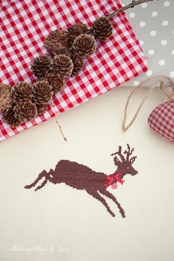 Weihnachts-Hirsche (acufactum)