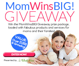 MomWinsBIG! Giveaway. Ends 4/4