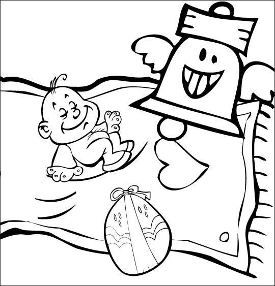 Coloriage Chanson Pour Enfants Frère Jacques Coloriage Chanson Frère