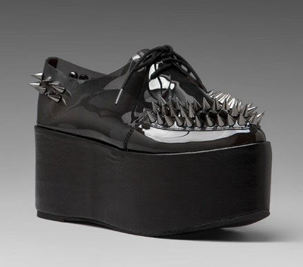 Jeffrey-Campbell-Stinger-Platform-Creeper-spike-in-Black-Made-with-premium-leather-German-sole-Lace-front