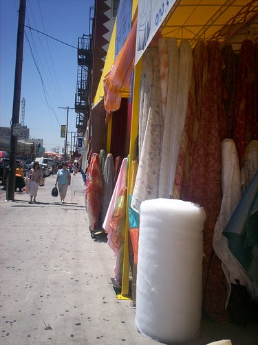 Fabric Distric Downtown LA