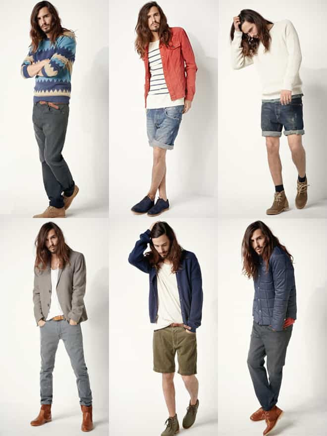 Men's Samsoe Lookbook Spring/Summer 2012