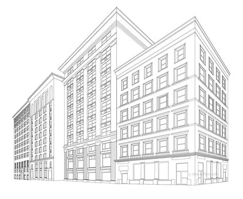 sketchup models office building coloring pages