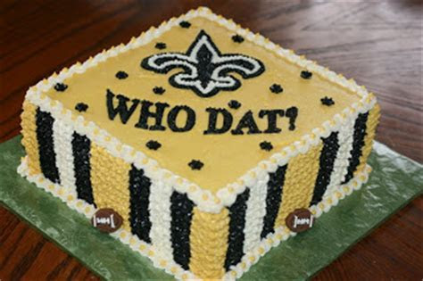 Carly's Cakes: Who Dat? New Orleans Saints