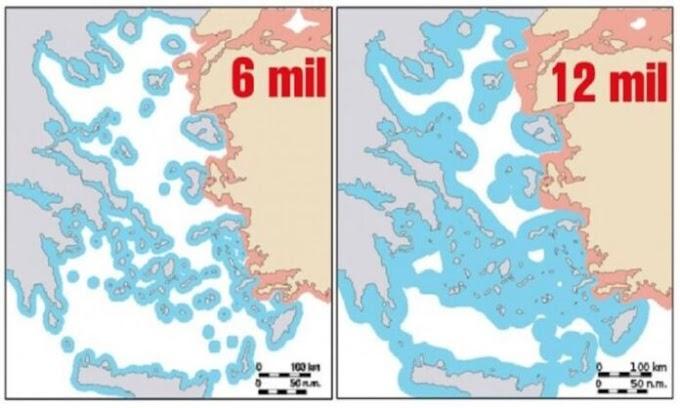 Ένας κρυφός λόγος που οι Τούρκοι τρέμουν τα 12 μίλια στο Αιγαίο