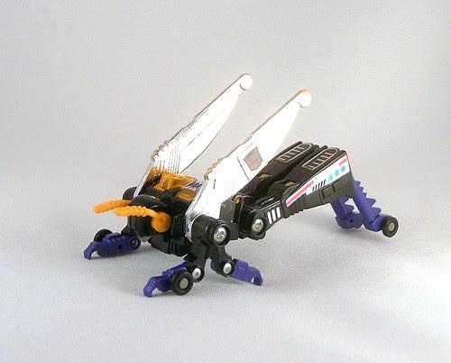 Transformers Kickback - modo alterno (G1)