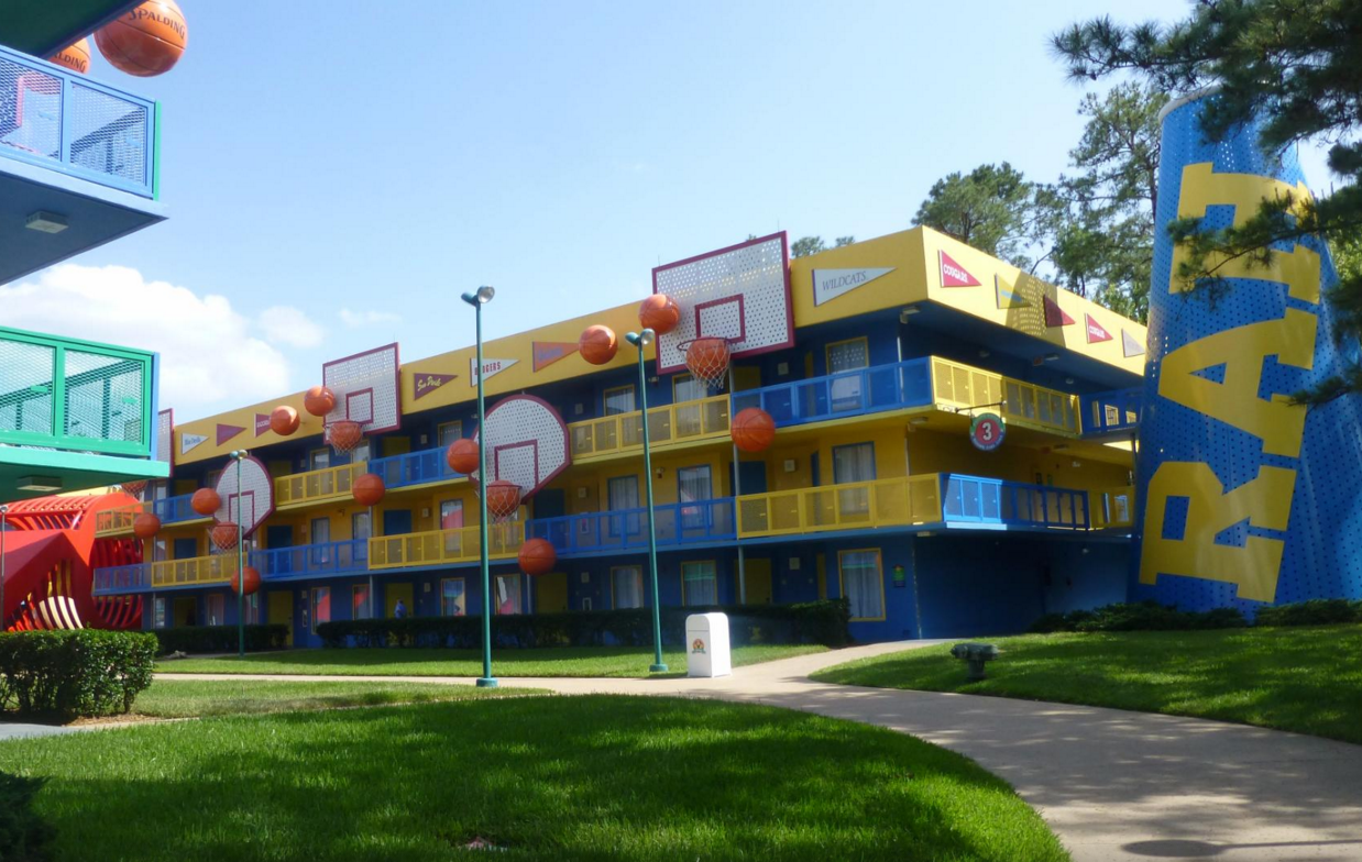 Disneys AllStar Sports Resort  Walt Disney World Made