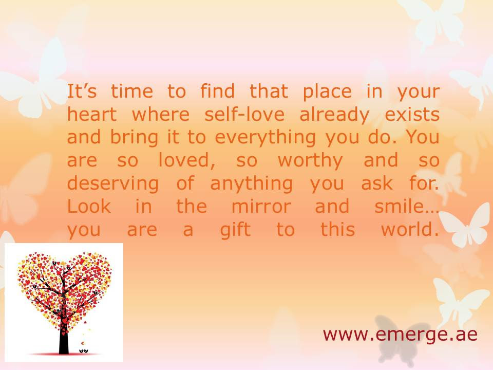 Emerge Coaching Dont Forget To Fall In Love With Yourself First