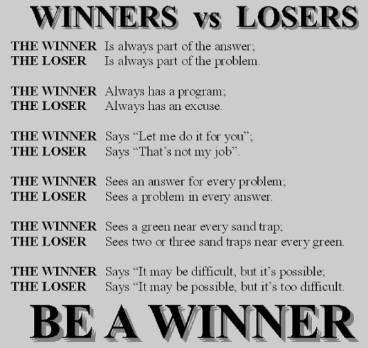 Are You A Winner Or Loser In Life Mylot
