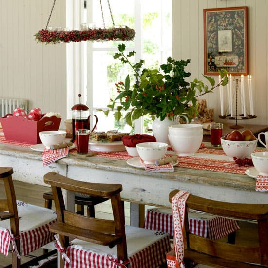 Country Christmas Theme Decorations - Modern Home Life Furnishings