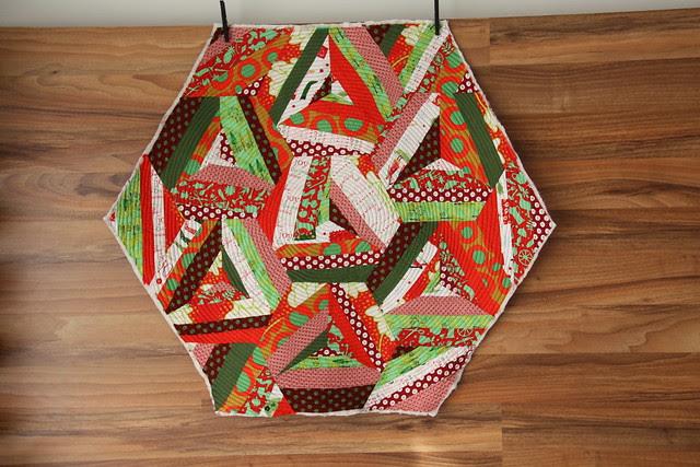christmas hexagon
